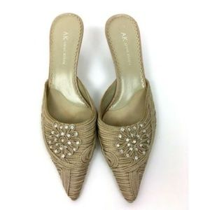 Anne Klein Heels Size 8 Embellished Wedding